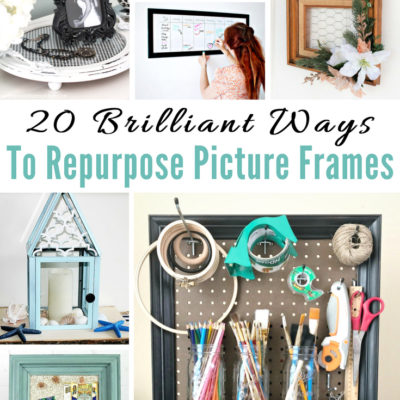 20 Brilliant Ways to Repurpose Picture Frames