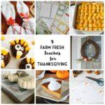 9 Farm Fresh Touches for Thanksgiving