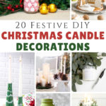 DIY Christmas Candle Decorations