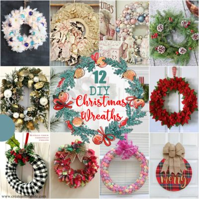 12 Beautiful DIY Christmas Wreaths