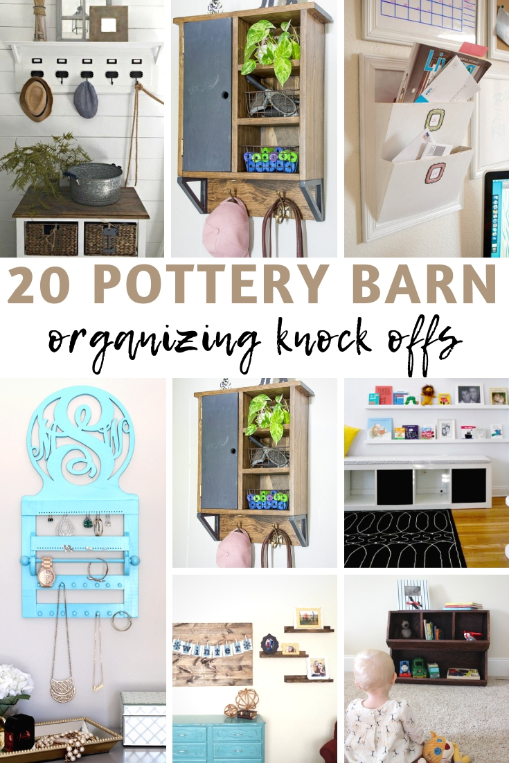 20 Pottery Barn Organizing Knock Offs