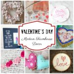 Valentine's Day Inspired Modern Farmhouse Decor