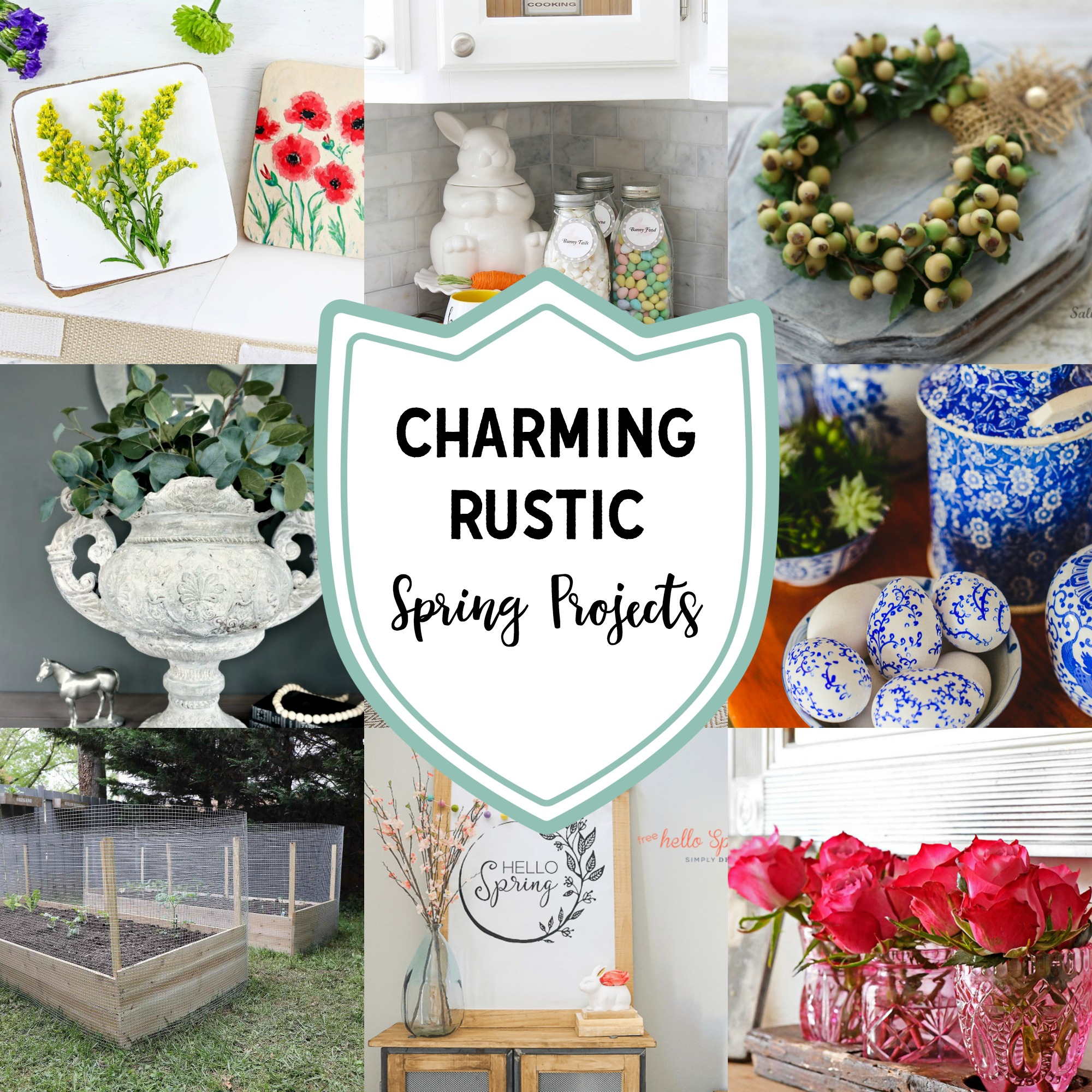 Charming Rustic Spring Projects