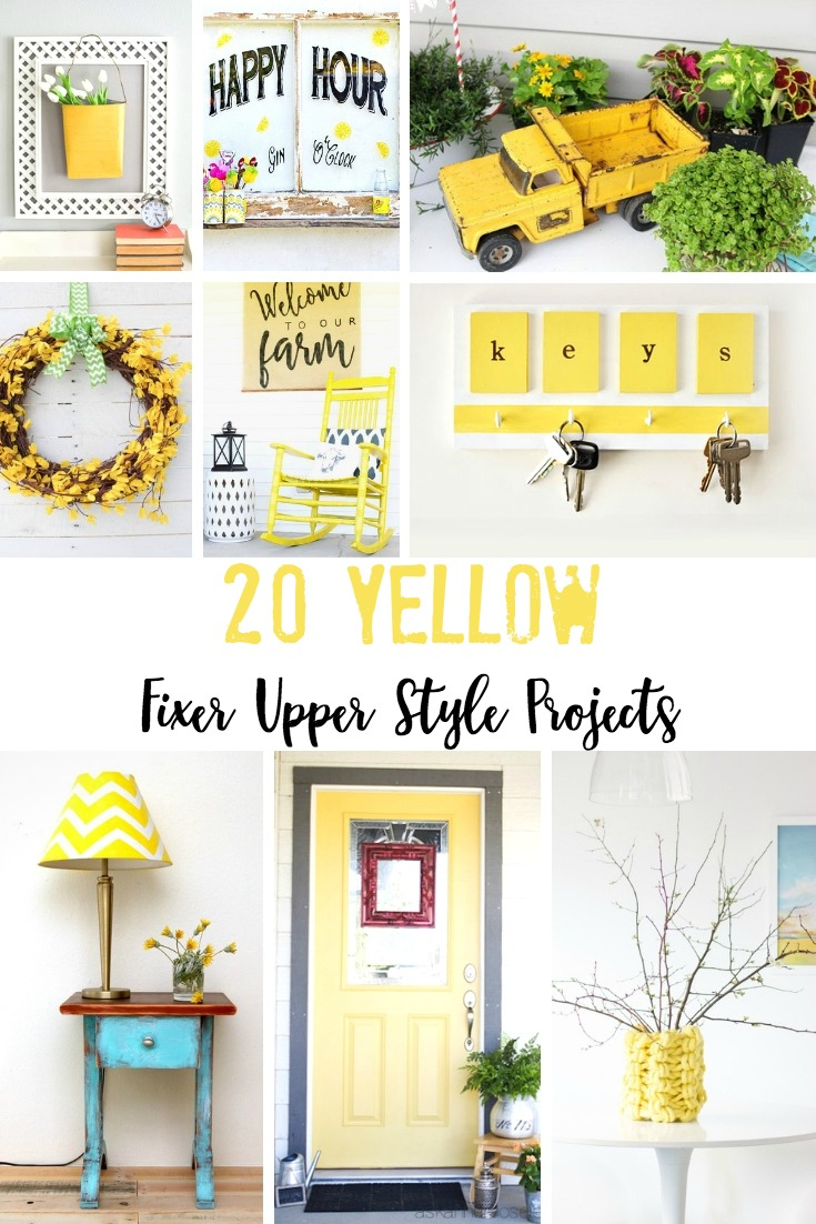ellow Fixer Upper Style Projects