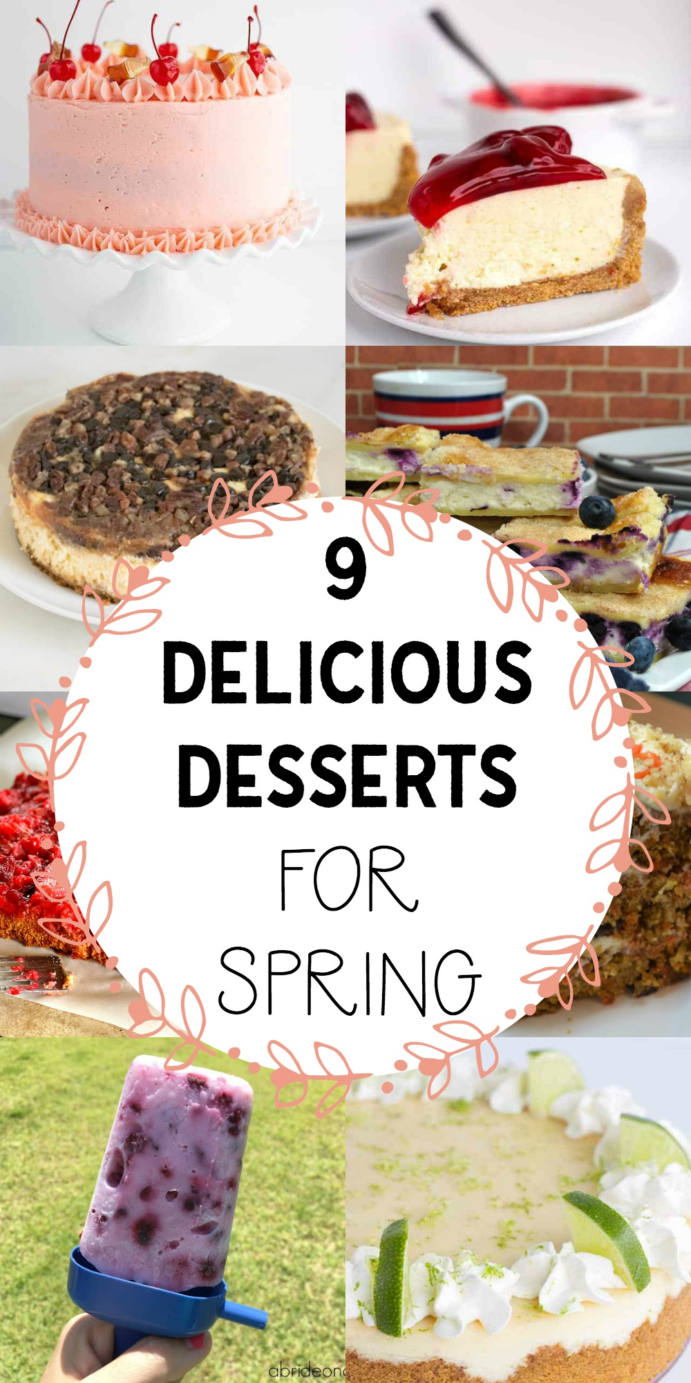 9 Delicious Desserts for Spring
