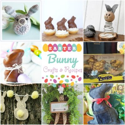 Easter Bunny Crafts & Recipes