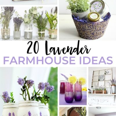 20 Lavender Farmhouse Ideas