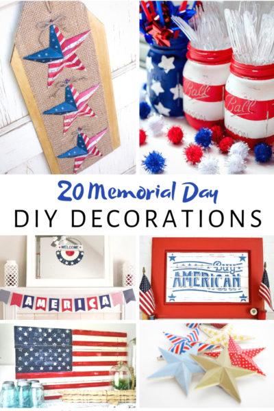20 Memorial Day DIY Decorations