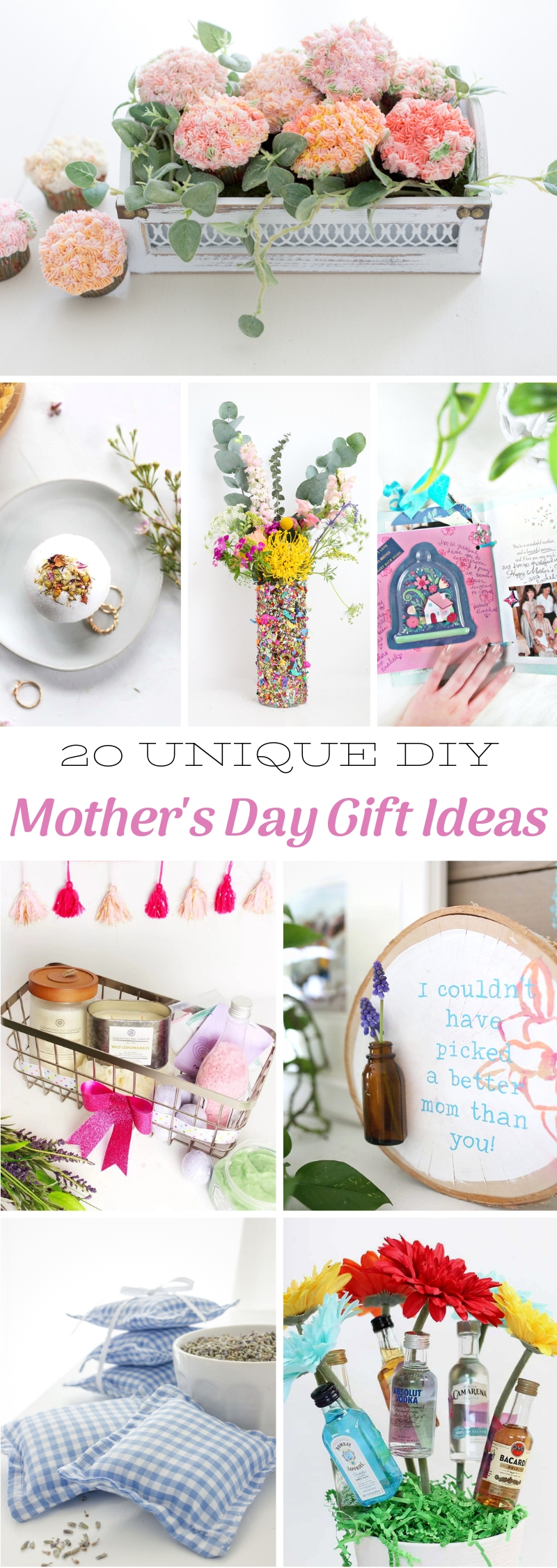 Unique DIY Mother's Day Gift Ideas
