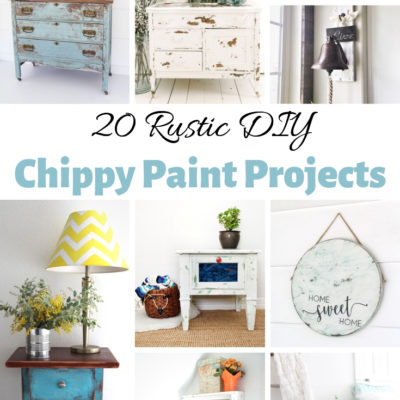 20 Rustic DIY Chippy Paint Projects