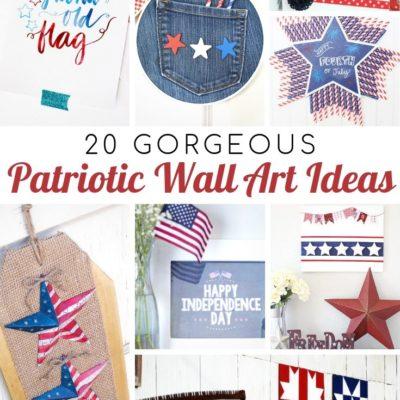 20 Gorgeous Patriotic Wall Ideas