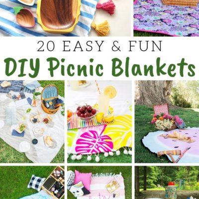 20 DIY Picnic Blankets