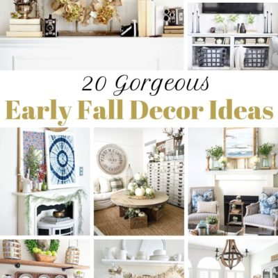 20 Early Fall Decor Ideas