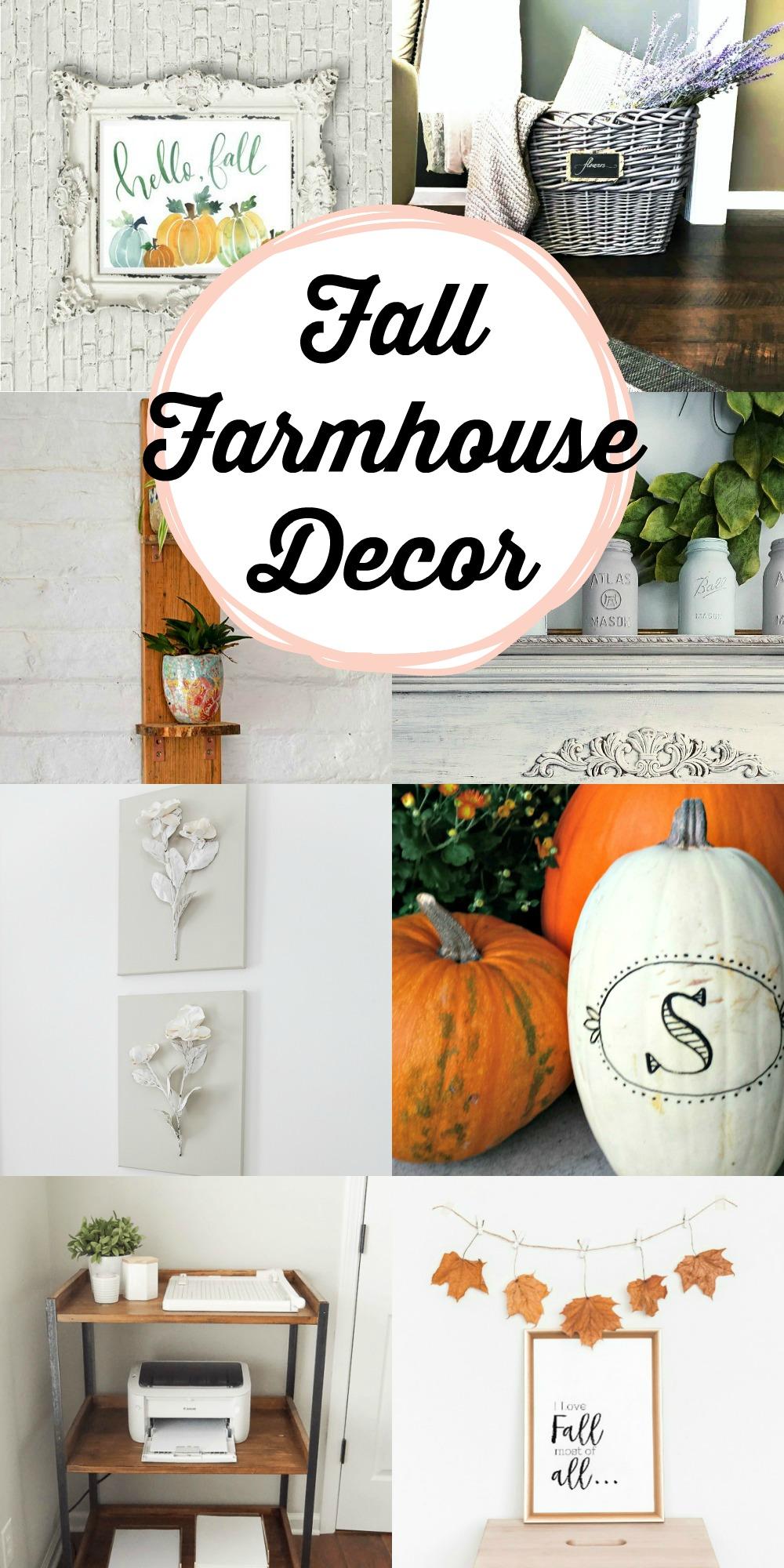 Fall Farmhouse Deco