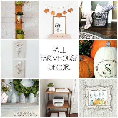 Fall Farmhouse Decor to Make Now