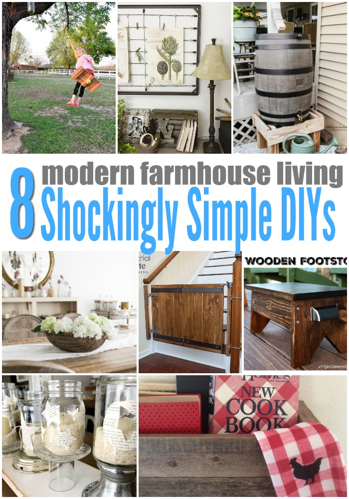 Modern Farmhouse Living Easy DIY