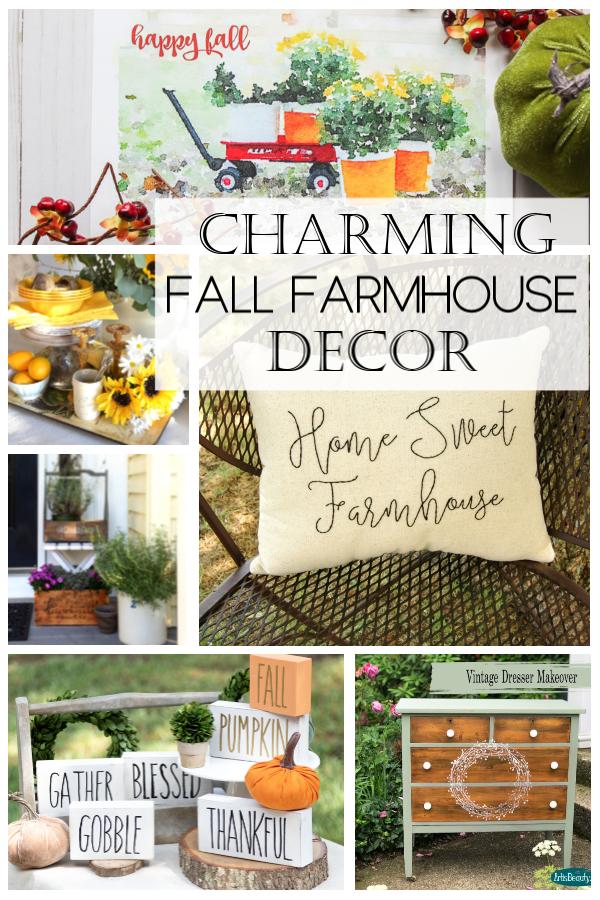 Charming Fall Farmhouse Decor
