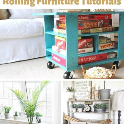 20 Amazing DIY Rolling Furniture Tutorials
