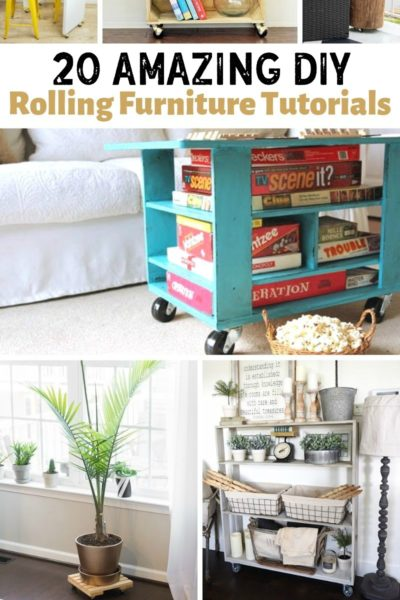 DIY Rolling Furniture
