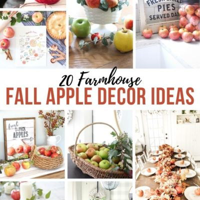 20 Farmhouse Apple Decor Ideas