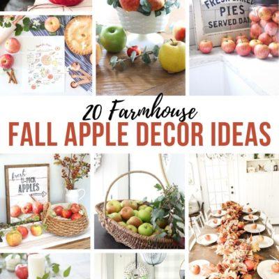 20 Farmhouse Apple Decor Ideas