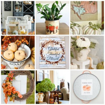9 Fresh Fall Decor Ideas