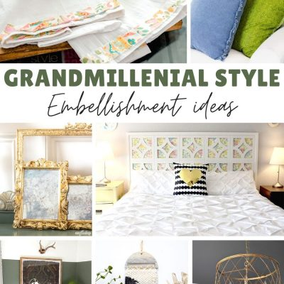 How to add Grandmillenial Style to Your Home