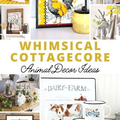 Whimsical Cottagecore Animal Decor Ideas