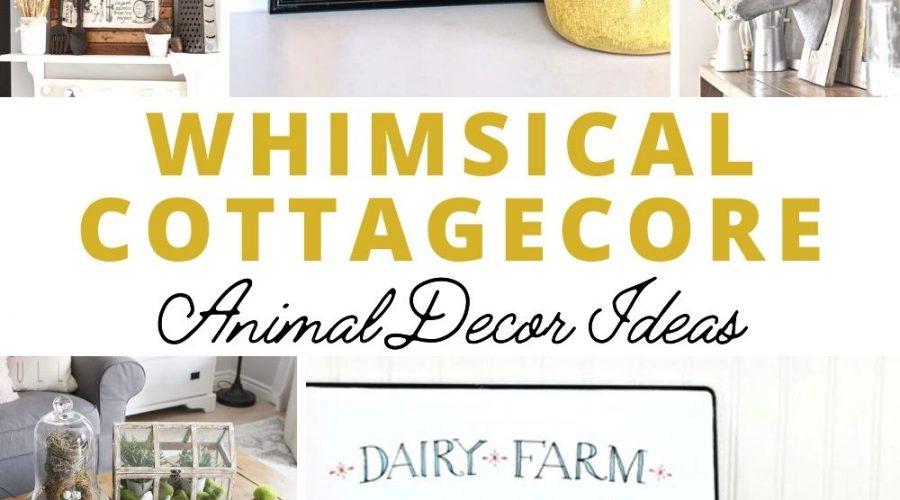 Cottagecore Animal Decor